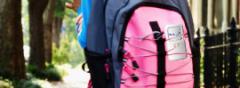 Ryggsäck med inbyggd GPS