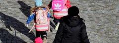 Gps-sändare som håller koll på barnen