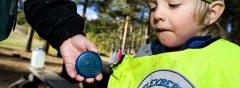Radiosändare håller koll på förskolebarnen