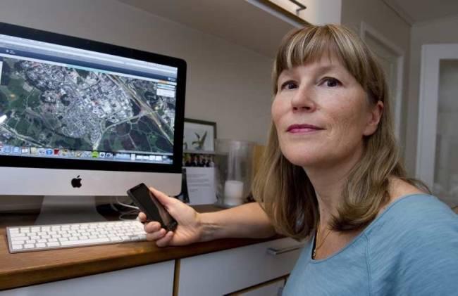 Ha koll på barnen med mobilen - Helena Hassler med positioneringstjänsten Lociloci